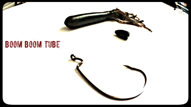 reaction innovations, tube, flipping, bass fishing, 1/2oz tungsten, boom boom tube, owner wide gap plus hook