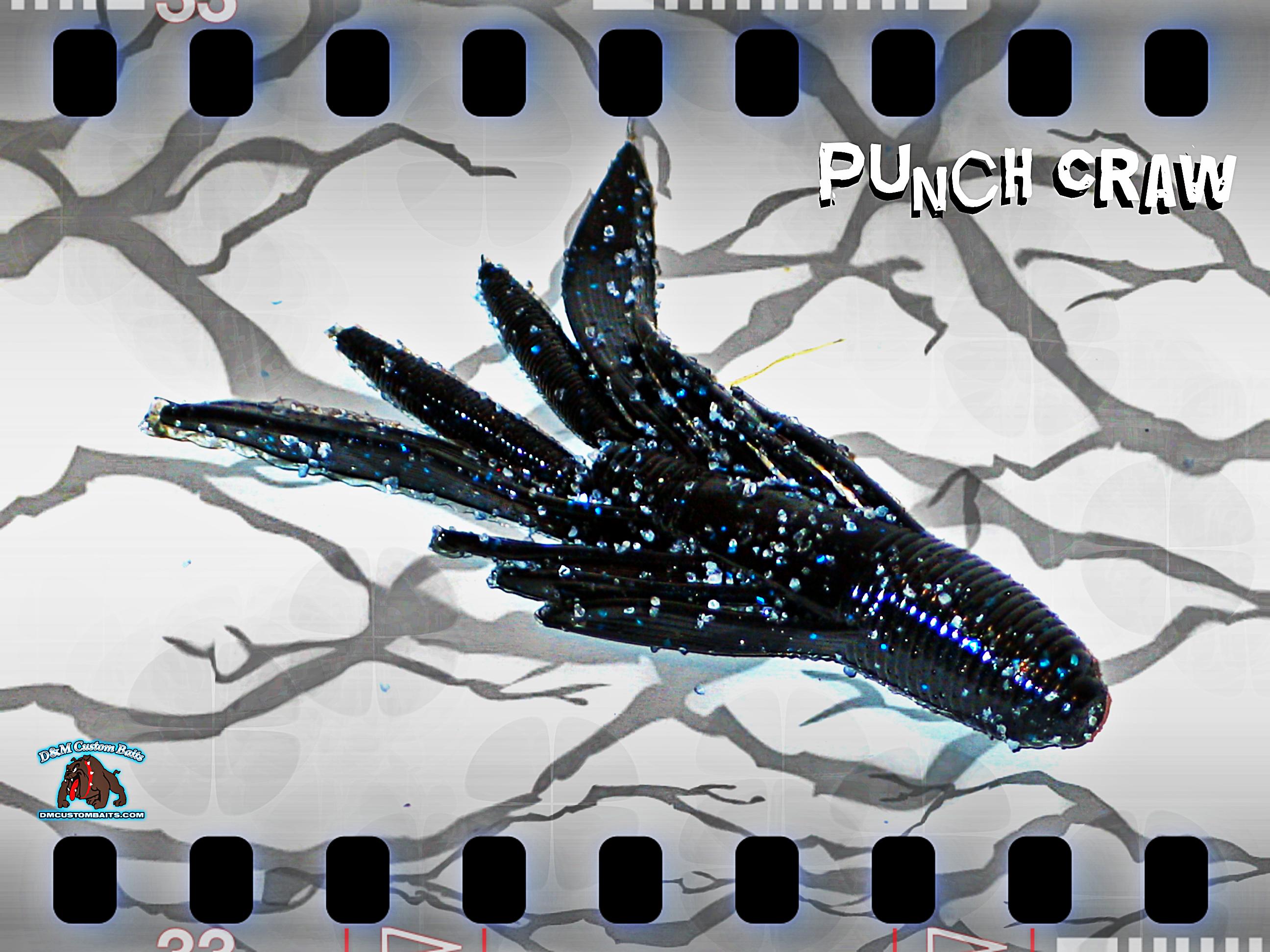 d&m custom baits punch craw
