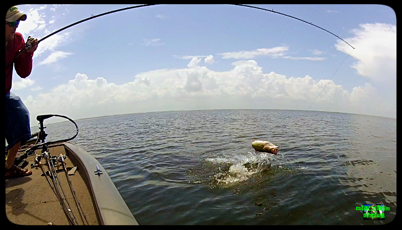 Gopro hero 2 setup mikey balzz fishing for Best gopro for fishing