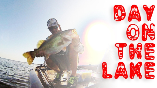 bass fishing in the summer